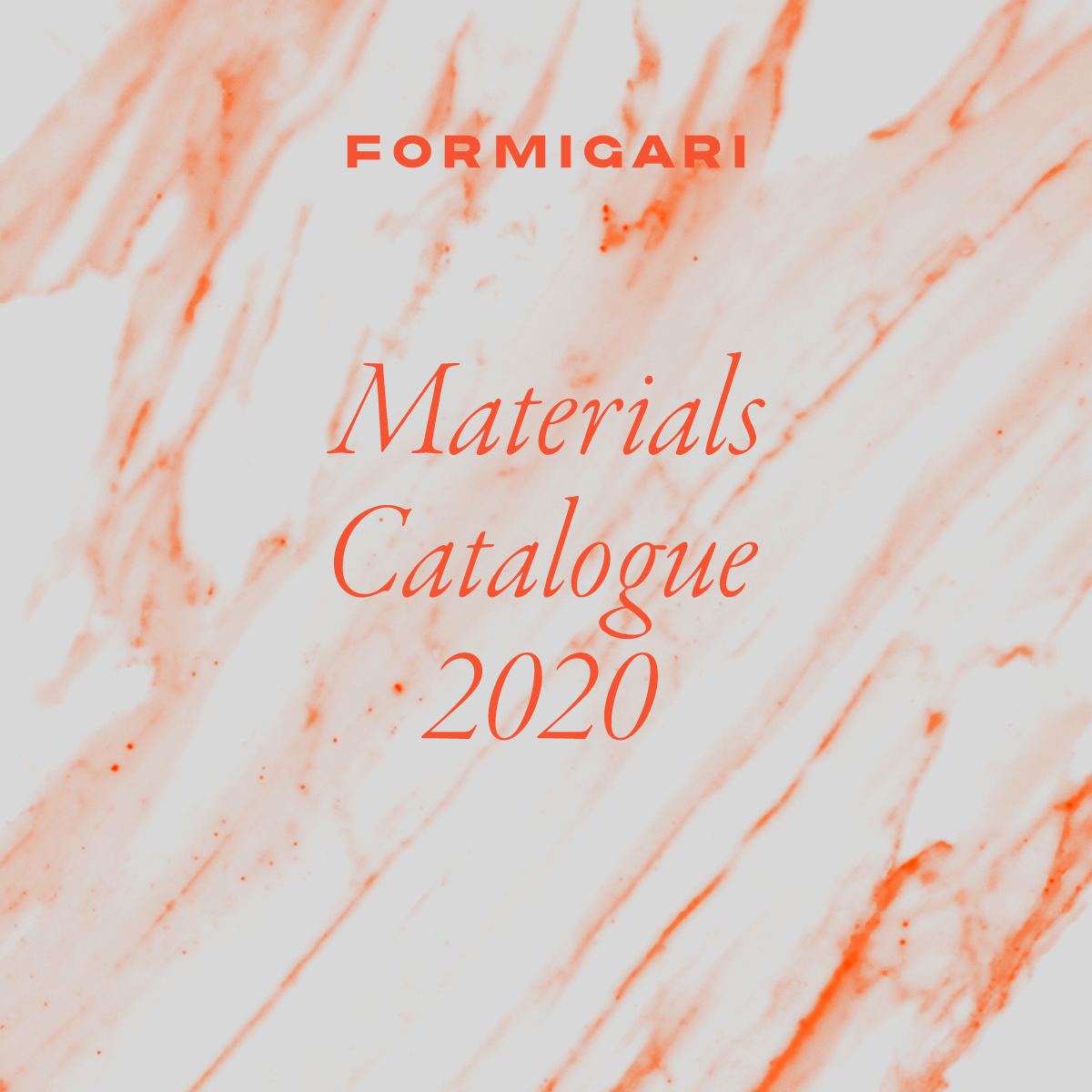 Materials Catalogue 2020
